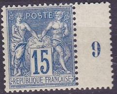 France Sage Type II  N°90 Année 1878 Neuf ** - 1876-1898 Sage (Type II)