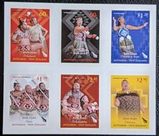 New Zealand, 2011, Michel 2775-2780, Maori Culture - Kapa Haka Dancing, Sheet 6v Self Adhesive, MNH - Unused Stamps