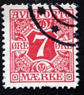 Denmark 1907  AVISPORTO MiNr. 3X  ( Lot G 1089 ) - Port Dû (Taxe)