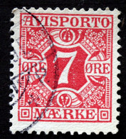 Denmark 1907  AVISPORTO MiNr. 3X  ( Lot G 1091 ) - Port Dû (Taxe)