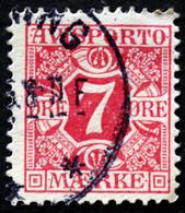 Denmark 1907  AVISPORTO MiNr. 3X  ( Lot G 1092 ) - Port Dû (Taxe)