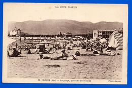 CPA Fréjus - LA Plage, Quartier Des Sables - Frejus