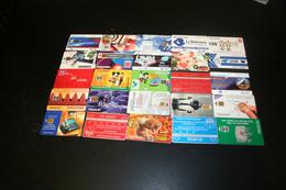 Collection De 25 Cartes Téléphoniques Différentes - Lots - Collections