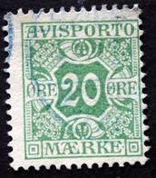 Denmark 1907  AVISPORTO MiNr.5X  ( Lot G 1098 ) - Port Dû (Taxe)