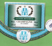 Etiquette  De Champagne    GARDET   Olympique De MARSEILLE - Champagne