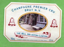 Etiquette  De Champagne    MEDOT   The Bell In Aston Clinton - Champagne