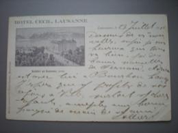 LAUSANNE - HOTEL CECILE 1911 - VD Vaud