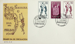 1965 Sahara Español FDC Dia Del Sello - Sahara Spagnolo