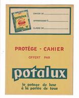 Protège Cahier POTALUX Potage De Luxe à La Portée De Tous - Book Covers
