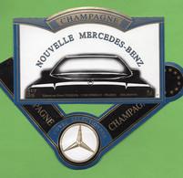 Etiquette  De Champagne   TENEDOR   Nouvelle Mercedes - Champagne