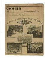 Protège Cahier Saucisson MIREILLE Rullière Avignon - Book Covers
