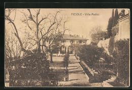 Cartolina Fiesole, Villa Medici - Andere Steden