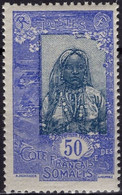 COTE DES SOMALIS Poste 107 ** MNH Femme Somali - Nuovi