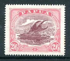 Papua 1916-31 Lakatoi - P.14 - 2/6 Maroon & Bright Pink HM (SG 103a) - Papúa Nueva Guinea