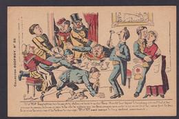 CPA LAVRATTE Collection Godfroy Satirique Caricature Humour édition La Lanterne Humour - Satira