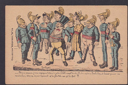 CPA LAVRATTE Collection Godfroy Satirique Caricature Humour édition La Lanterne Humour Pompiers - Satira