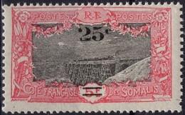 COTE DES SOMALIS Poste 116 ** MNH Pont Du Chemin De Fer à Holl-Holli (1) - Nuovi