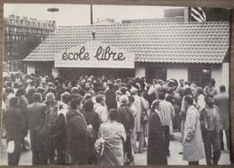MANIFESTATION ECOLE LIBRE MONTPARNASSE.MAI 1984.CACHET AU DOS.NON CIRCULE.TBE. - Manifestaciones