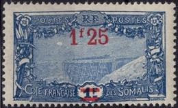 COTE DES SOMALIS Poste 117 ** MNH Pont Du Chemin De Fer à Holl-Holli (1) - Nuovi