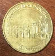 37 CHÂTEAU DE CHENONCEAU MEDAILLE SOUVENIR MONNAIE DE PARIS 2009 JETON TOURISTIQUE MEDALS COINS TOKENS - 2009