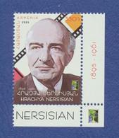 ARMENIE Hrachya Nersisian Acteur. 125th Anniversaire Neuf**. Cinéma Film, Movie. - Cinema