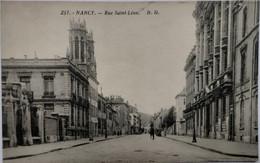 Nancy - Rue Saint-Léon - Nancy