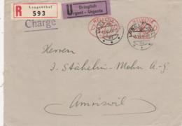 Schweiz- Langenthal- Beleg Per Einschreiben-Dringlich, Gelaufen 1946 - Postage Meters