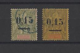MADAGASCAR. YT   N° 54-55  Obl  1902 - Used Stamps