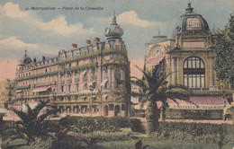 34 - Montpellier - Beau Cliché Colorise De La Place De La Comédie - Nouvelles Galeries - Montpellier