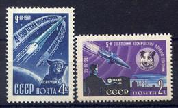 RUSSIE - 2426/2427** - LANCEMENT DES 4è ET 5è VAISSEAUX COSMIQUES - Nuovi