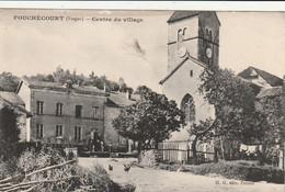 88/ Fouchécourt - Centre Du Village - Carte Ecrite - Sonstige Gemeinden