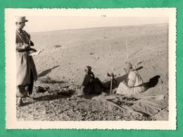 Photo Militaire Guerre D' Algerie Tir De Mortier  ( Format 7cm X 10cm ) - Oorlog, Militair
