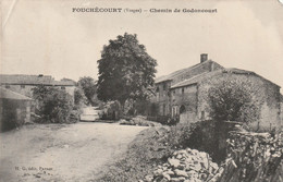 88/ Fouchécourt -Chemin De Godoncourt ,ecrite Un Petit Manque A L 'angle A Droite - Sonstige Gemeinden