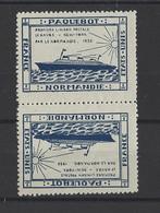 FRANCE. YT   Vignettes Paquebot  Neuf **  1935 - Sin Clasificación