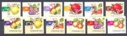 2005. Tajikistan, Fruits, 12v, Mint/** - Tadschikistan