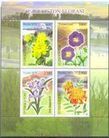 2019. Uzbekistan, Mountain Flowers Of Uzbekistan, S/s, Mint/** - Uzbekistan