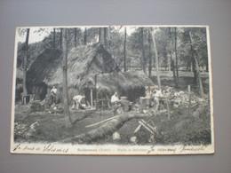 SOLESMES 1904 - HUTTE DE SABOTIERS -METIERS / BEROEPEN - Solesmes