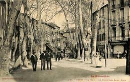 033 819 - CPA - France (66)  Pyrénées Orientales - Céret - Le Boulevard Saint-Roch - Ceret