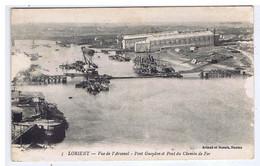 MORBIHAN - LORIENT - Vue De L'Arsenal - Pont Gueydon Et Pont Du Chemin De Fer - Lorient