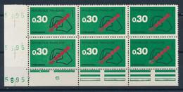 DX-336: FRANCE: Lot Avec N°1719** En Bloc De 6, Dégradé De Couleur - Varieteiten: 1960-69 Postfris