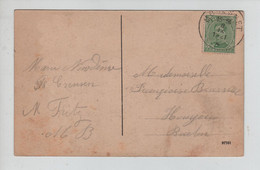 REF3185/ TP137 S/CP Salut De Moresnet Calvarienberg C.Moresnet 8/9/1921 - Cartas