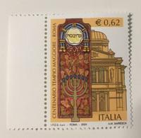 2004 - Italia - Centenario Del Tempio Maggiore In Roma - E.0,62 - 2001-10:  Nuovi