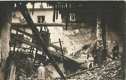 "NANCY Bonbardement De La Pharmacie ""Reosfeldu"" Du 16 Octobre 1917(carte Photo) - Nancy"
