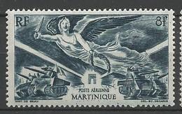 MARTINIQUE PA N° 6 NEUF*  CHARNIERE / MH - Airmail