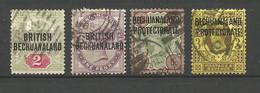 BECHUANALAND  1892...1898     LOT   FAUX - 1885-1964 Herrschaft Von Bechuanaland