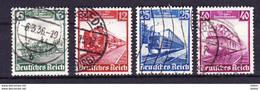 Duitsland Reich 1935 Nr 539/42 G,  Zeer Mooi Lot Krt 3253    KOOPJE !!! - Collections (without Album)