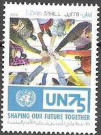 LEBANON, 2020, MNH, UN, 1v - ONU