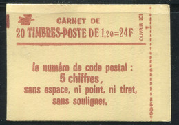 FRANCE - CARNET N° 1974 -C 4  - CONF. 8 -  * *  - CD DU 6.  27/11/78 & 6.  20/12/78 - COMPLET FERME & LUXE - 2 DATES ??? - Definitives