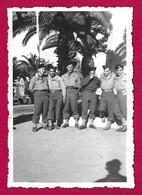 Vingt-cinq Photographies En Noir Et Blanc - Souvenirs Du Service Militaire Au Maroc - Krieg, Militär