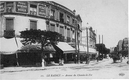 LE RAINCY   :   Avenue Du Chemin-de-Fer - Le Raincy